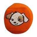 Obrázek pro výrobce Okluzor Optimio STANDARD - Pejsek Optík (barva oranžová)